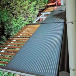 Horizontal Aluminium roller shutter for outdoor roof