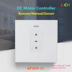 AC304-01 DC motor wall type receiver