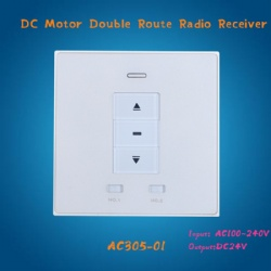 AC305-01 DC24V motor wall type Receiver