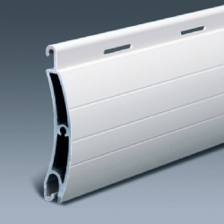Aluminum roller shutter 55mm double layer hurricane slat